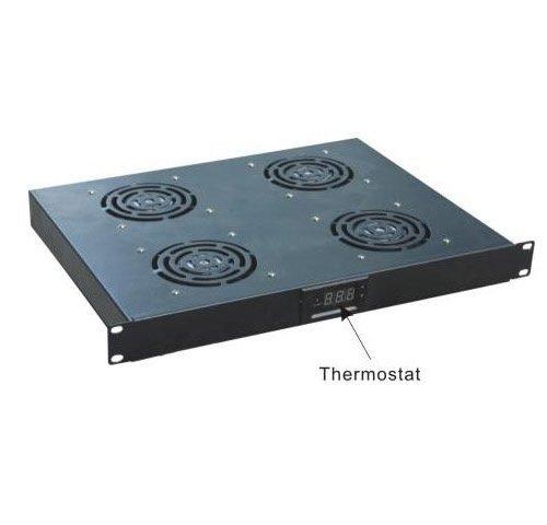 Unidad de ventilación 19¨ con termostato