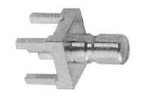 Conector SMB Hembra 90º PCB largo